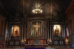 Iglesia Achao Altar (@jaranedab) Tags: chile color arquitectura madera interior edificio iglesia unesco altar vaticano cruz isla chiloe barroco humanidad patrimonio achao vestbulo santamarialoreto