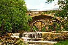 Berea Falls Scenic in Ohio (CarlosJRoman) Tags: ohio usa canon river waterfall long exposure photographer cleveland falls 7d 1750 tamron manfrotto haida berea nd1000 nonvc