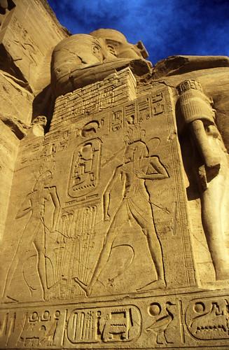 "Ägypten 1999 (125) Assuan: Großer Tempel von Abu Simbel • <a style=""font-size:0.8em;"" href=""http://www.flickr.com/photos/69570948@N04/27481592375/"" target=""_blank"">View on Flickr</a>"
