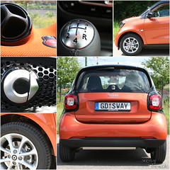 new Smart #2 (Sway Dench / Sway's) Tags: smart car orange auto mercedes daimler mercedesbenz