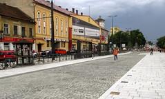 Cluj-Napoca - Train Station square (Bogdan Pop 7) Tags: summer station architecture train europe romania transylvania transilvania piata kolozsvar cluj clujnapoca roumanie 2016 vara erdly erdely kolozsvr ardeal romnia arhitectura klausenburg var romnia arhitectur garii