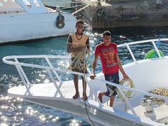 Egyptian Guys (shaire productions) Tags: egypt egyptian image picture photo photograph travel world vacation beach hurghada redsea nature outdoors boys teens guys boat