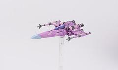 Bubbie Pup - Z-95 (Jay Adan) Tags: game miniatures starwars xwing starship repaint ffg