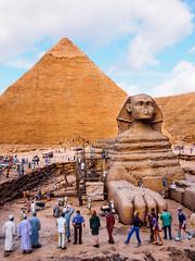 Tobu World Square #3 (J_Fish) Tags: world travel japan sphinx museum miniature model pyramid egypt nikko excavation