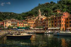 Porto Finssimo (Luis Sousa Lobo) Tags: sea italy canon mar riviera italia portofino hdr mediterrneo 2470 70d ligria