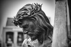 El Salvador (james.froumis) Tags: blackandwhite church monochrome statue nikon catholic mary jesus lajolla d750 starofthesea 24120mmvr
