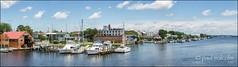 Little Washington (FiddleFlix) Tags: panorama usa river washington pano northcarolina littlewashington