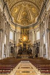 Chair of Peter (JWY80) Tags: travel italy rome roma nikon catholic d750 sanpietro hdr lazio stpetersbasilica 24120mm latium avemariauniversity