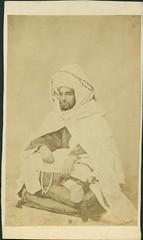 "Jean Laurent, ""Retrato del Retrato de muley El Abbas"", (carte de visite, ca. 1860) (Museo del Romanticismo) Tags: de xix visite carte fotografa siglo romanticismo jeanlaurent"