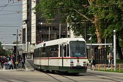 Dwag M8C #8007 AVG Augsburg (3x105Na) Tags: germany bayern deutschland tram augsburg strassenbahn tramwaj avg niemcy 8007 m8c dwag
