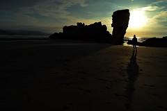 El Sablon de Bayas (blancaelena_muizmartinez) Tags: sunset summer costa naturaleza atardecer mar asturias playa paseo reflejo cantbrico