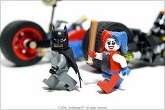 #LEGO #76053 #Batman #Gotham_City_Cycle_Chase #Harleyquinn #Deadshot # # # # # ((ArchiDong-Ie)) Tags: lego batman harleyquinn  deadshot  76053   gothamcitycyclechase