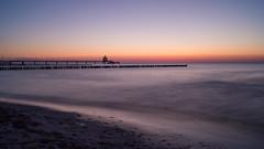 Baltic Sea (martha hoo) Tags: balticsea ostsee zingst beach strand wasser water natur nature landscape landschaft langzeitbelichtung longexposure