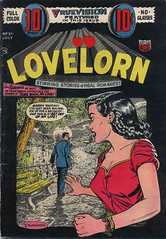 Lovelorn 51 (Michael Vance1) Tags: art artist anthology woman romance relationships dating silverage love lovers man marriage comics comicbooks cartoonist