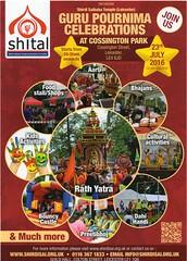 010 Guru Purnima 23 July 2016 (kiranparmar1) Tags: night poster flyer indian leicester july event 23 hindu sai baba guru purnima 2016