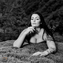 Ida (Gjesdal.org) Tags: portrait norway tattoo ink nikon no ida rogaland d810 topazdetail topazremask topazbw drangsdalen sigma50mmf14dghsmart