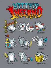 Kitty's Inferno (Lucky1988) Tags: cats hell dystopia dantesinferno
