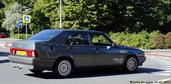 Alfa Romeo 75 1.8 1990 (XBXG) Tags: yh65vj alfa romeo 75 18 1990 alfaromeo alfaromeo75 ar transaxle overveen nederland holland netherlands paysbas vintage old classic italian car auto automobile voiture ancienne italienne italy italie italia italië worldcars