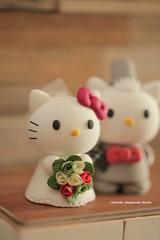 hello kitty & dear daniel wedding cake topper (charles fukuyama) Tags: wedding cute kitten gift weddingceremony brideandgroom sculpted bridalbouquet weddingcaketopper customcaketopper claydoll catcaketopper kikuike handamdecaketopper