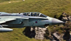 High Five (Dafydd RJ Phillips) Tags: jet military combat royal air force raf marham low level mach loop panavia tornado gr4