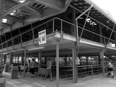 Pavilion (BunnyHugger) Tags: picnic indiana amusementpark pavilion monticello indianabeach