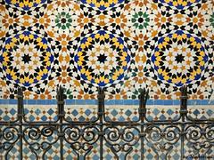 Colors and patterns (Shahrazad26) Tags: fs fez medina fselbali mozaek zellig zellij smeedijzer marokko maroc morocco