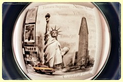 005 (BehindObjective) Tags: newyork fisheye americandream libertystatue uploaded:by=flickrmobile flickriosapp:filter=aardvark aardvarkfilter