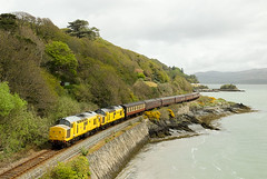 97303, 97304, 1Z40, Picnic Island (welsh snapper) Tags: wales train locomotive railtour railways aberdovey gwynedd cambrian steamdreams 973 picnicisland ertms 97304 1z40 97303 thecathedralsexplorer
