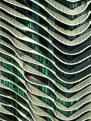 Aqua (Atelier Teee) Tags: windows chicago illinois balconies portals fenetres studiogang atelierteee terencefaircloth aquatower
