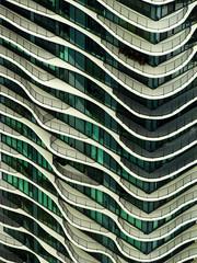Aqua (Atelier Teee) Tags: windows chicago illinois balconies portals fenetres studiogang atelierteee terencefaircloth aquatower