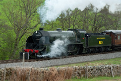 Southern Railways 825 (saxman1597) Tags: england beauty landscape countryside nikon yorkshire transport railway historic steam sigma18125 steamtrain steamlocomotive nymr northyorkmoorsrailway nikond200 darnholm historictransportation historictransport classictransport southern825 classiclocomotive nymrsteamgala2013 nymrsteamgala10513