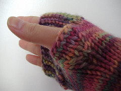 Camp Out Fingerless Mitts (n'ami - atelierknits) Tags: knitting gift 2012 malabrigo