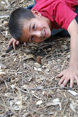 Boy and Morel (salabat) Tags: mushrooms fungi fungus funghi morels morchella foraging californiaforaging