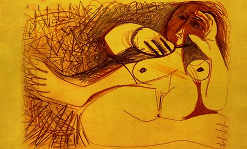 "Majas, homenajes de Francisco de Goya y Lucientes (1802), Eugéne Delacroix (1826), Amadeo Modigliani (1916), Pablo Picasso (1906), (1931), (1959), (1964). • <a style=""font-size:0.8em;"" href=""http://www.flickr.com/photos/30735181@N00/8747969176/"" target=""_blank"">View on Flickr</a>"