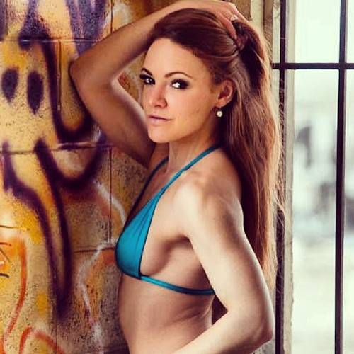 Redhead female fitness girls that interrupt