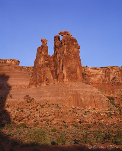 First light at Arches National Park 1