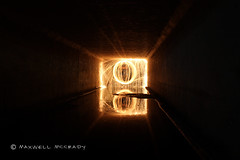 (xxMaxwellxx) Tags: longexposure lightpainting night lightgraffiti steelwool