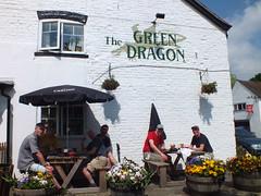 The Green Draggon Little Stretton (topdogdjstew) Tags: shropshire churchstretton allstretton