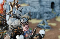 Chaos Warshrine (Pablo Warrior of Chaos) Tags: painting chaos games caos warhammer warriors gamesworkshop tzeentch warshrine