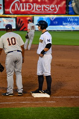 Tyler Austin on First After Walk (slgckgc) Tags: austin waterfrontpark trentonthunder tyleraustin