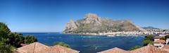 Panoramica su Sferracavallo e Capo Gallo (marcopa82) Tags: costa europa mediterraneo italia mare pano cielo palermo sicilia sferracavallo barcarello