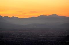 ATARDECER EN SANTIAGO (Pablo C.M || BANCOIMAGENES.CL) Tags: chile city santiago sunset atardecer ciudad gransantiago