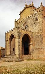 Erice, Chiesa Matrice (albireo 2006) Tags: italy church architecture mediterranean italia cathedral chiesa porch sicily duomo sicilia erice chiesamatrice