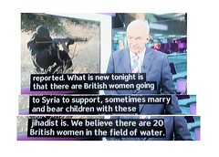 2013_07_240001 (t4) - British women in the field of water (Gwydion M. Williams) Tags: uk greatbritain england funny britain humor humour syria subtitles captions subtitle assad misprint islamists misprints syriancivilwar