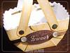 Cestinha de papel (Ateliê Lecanto) Tags: scrapbook sewing costura cestinha