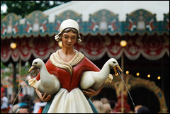 De Ganzenhoedster, Efteling (Sybren_J) Tags: fairytale anton efteling plein sprookje pieck ganzenhoedster
