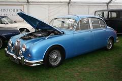 1964 Jaguar MkII 3.4 (davocano) Tags: auction brooklands carauction classiccarauction historicsatbrooklands prx796b