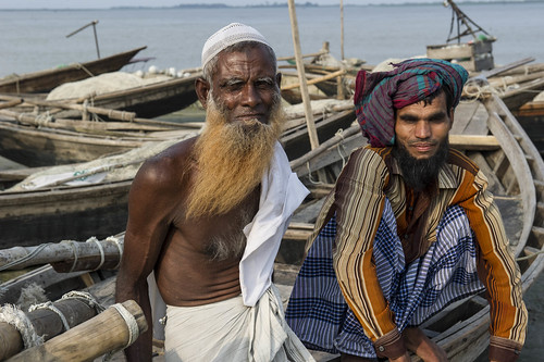 Fishermen in Bhola, Bangladesh. Photo by Finn Thilsted, 2012.