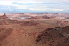 East Rim Overlook (demeeschter) Tags: park horse usa point landscape dead utah state canyonlands