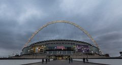 Wembley Stadium (SHKR | ShakerMedia) Tags: city london architecture buildings football stadium soccer nfl international american series vikings 1022mm steelers wembley uwa